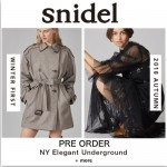 【予約解禁】SNIDEL 2018 Autumn Winter Collection!! テーマは「NY Elegant Underground」