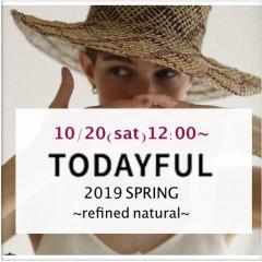 "【TODAYFUL19'Spring  展示会レポート】2019春のテーマは   ""refined natural""ナチュラルで洗練されたコレクション♪"