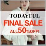 【ついにFINAL SALE開催★】TODAYFULの人気アイテムがALL50%OFF♪在庫かぎりなのでお早めに!!