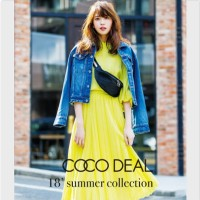COCO DEAL 2018Spring&Summerカタログ掲載アイテム〜宮田聡子さん着用〜