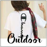 SNIDELやFRAY.IDのTシャツ、スポーツサンダルなど。。。夏休みに使いたいoutdoorアイテム!!