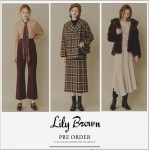 Lily Brown 2019 秋冬2nd Collection解禁! レトロな雰囲気漂う秋冬らしいコレクション。