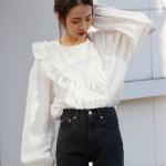 【追加速報】Ungridから人気のフリルブラウスやキャッチーな刺繍がポイントのTシャツまで!!近日入荷アイテムもご紹介!!