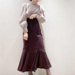【 SNIDEL Autumn Winter Collection 】レディなマーメイドスカートや、トレンドのロゴアイテムなどデイリーに着回せる新作が多数入荷♪