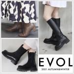【 EVOL 】コーディネート のアクセントになるシンプルながらもトレンド感のあるブーツ発売決定♪