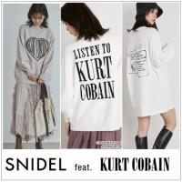 【 SNIDEL × KURT COBAIN  】カートコバーンが残したアーティスティックなサインやアートデザインのニットやバッグが登場♪